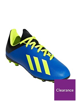 adidas-junior-x-184-firm-ground-football-boots-blueyellow
