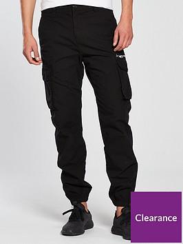 river-island-zeus-cargo-zip-trouser