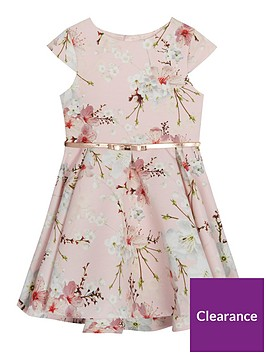 baker-by-ted-baker-girlsnbspfloral-belted-prom-dress