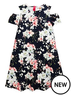 baker-by-ted-baker-girls-blossom-aop-cold-shoulder-dress