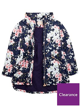 ce5d089c7b5c34 ... Baker by Ted Baker Girls Floral Print Lightweight Jacket  littlewoods.com online shop 1168c 8ed30 ...