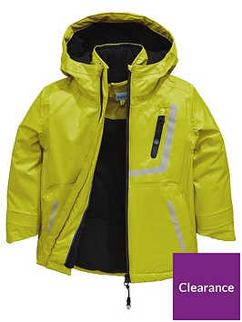 903772234 Baker by Ted Baker Boys Lightweight Printed Reflective Jacket ...