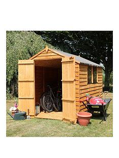 mercia-mercia-8x6ft-great-value-overlap-shed-apex-with-windows-double-doors-plus-assembly