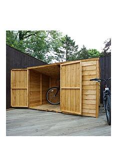 mercia-mercia-6x4ft-overlap-bike-store-pent-roof
