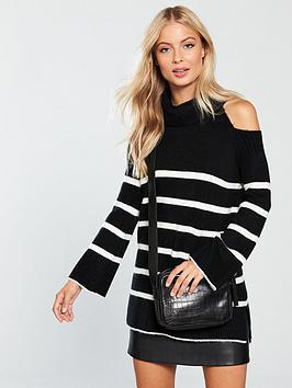 v-by-very-cold-shoulder-roll-neck-jumper-stripe