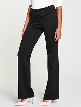 v-by-very-ponte-bootcut-trouser-black