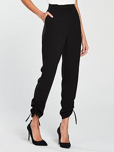 v-by-very-drawstring-hem-trouser-black
