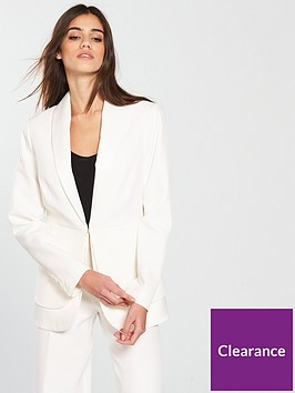 v-by-very-satin-trim-tux-jacket-ivory