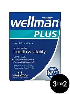 vitabiotics-wellman-plus