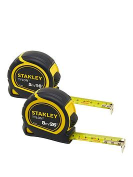 Stanley Stanley 5 And 8M Tape Measures - Twin Pack Picture