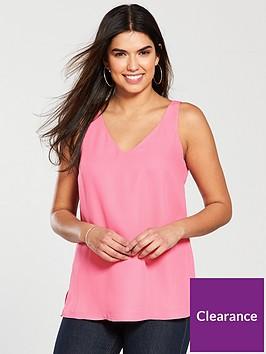 wallis-v-neck-cami-pink