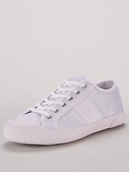 fred-perry-ellerton-mesh-trainers-white