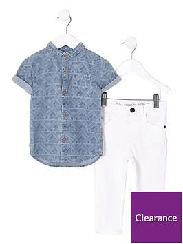 river-island-mini-boys-blue-aztec-denim-shirt-amp-jeans-outfit