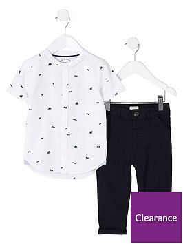 river-island-mini-boys-white-hat-shirt-and-chinos-outfit