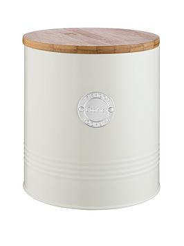 Typhoon Typhoon Living Cookie Storage Tin &Ndash; Cream Picture