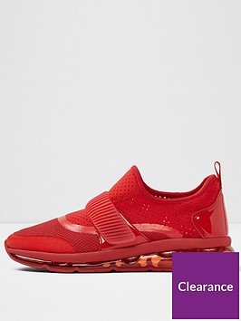 aldo-erilisen-slip-on-trainer-red