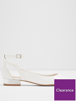 aldo-serisien-point-flat-shoe-white