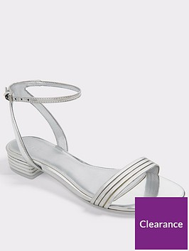 aldo-izzie-ankle-strap-flat-sandal-silver