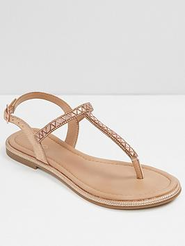 aldo-sheeny-metallic-flat-sandal