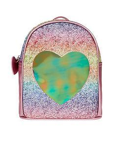accessorize-girls-rainbow-glitsy-heart-backpack