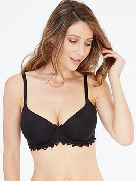 lepel-fiore-t-shirt-bra-black