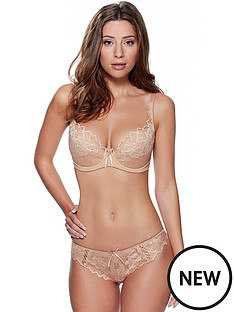 lepel-fiore-padded-plunge-bra-nude