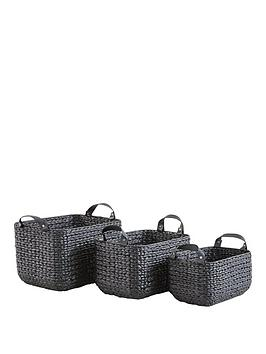 set-of-3-leather-handled-baskets-black