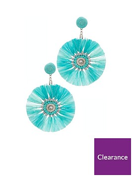 v-by-very-raffia-earrings-turquoise