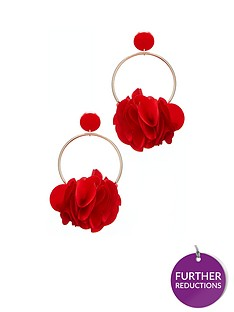 v-by-very-3d-floral-earrings-red