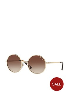 vogue-round-sunglasses-ndash-brown