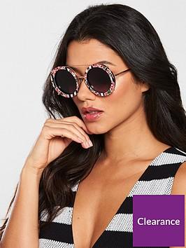 dolce-gabbana-stripe-floral-interchangeablenbsplens-sunglasses