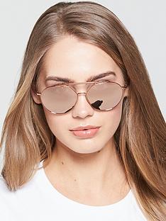 emporio-armani-aviator-sunglasses-rose-tone