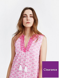 joules-orianne-sleeveless-embroidered-tunic-dress-pink