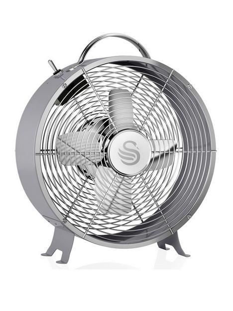 swan-sfa12630grn-8-inch-clock-fan-grey