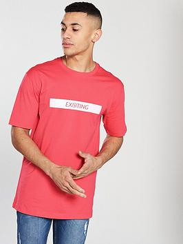 v-by-very-mens-oversized-back-print-tee-coral