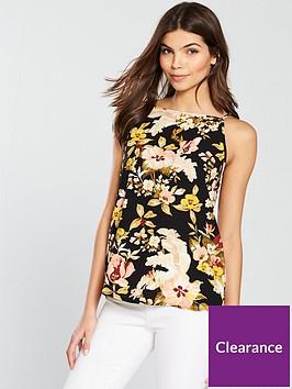 warehouse-hibiscus-cami