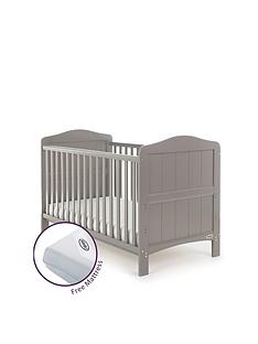 obaby-whitby-cot-bed-and-free-mattress