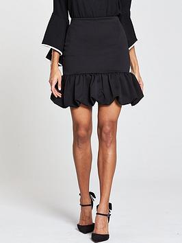 v-by-very-puff-ball-skirt-black
