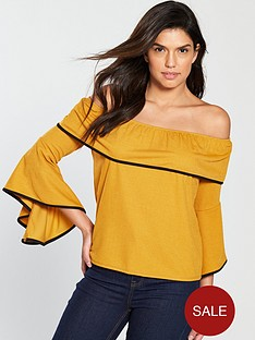 c0aded42b478ac Yellow | V by very | Tops & t-shirts | Women | www.littlewoods.com