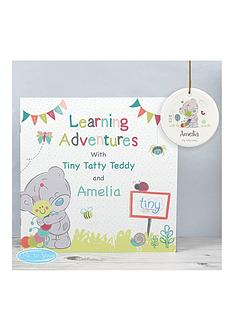 personalised-tiny-tatty-teddy-learning-adventure-book-and-personalised-tatty-teddy-ceramic-decoration
