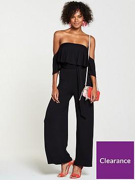 v-by-very-tall-bardot-frill-jersey-jumpsuit-black