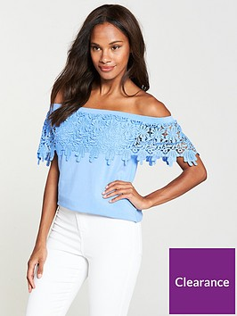 v-by-very-scallop-lace-bardot-top-soft-blue