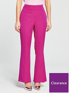 v-by-very-petite-fitted-wide-leg-trousers-pink