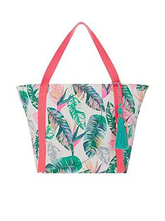 accessorize-palm-print-beach-bag