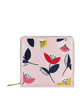 accessorize-retro-floral-embroidered-wallet-pink
