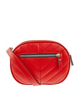 accessorize-otto-quilted-bumbag-red