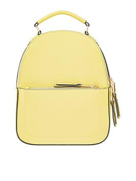accessorize-tommie-midi-dome-backpack-yellow