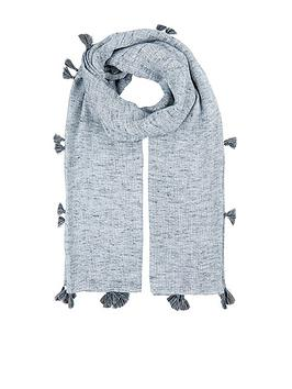 accessorize-textured-tassel-square-scarf