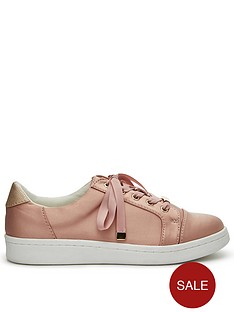 miss-selfridge-toe-cap-trainer-pink