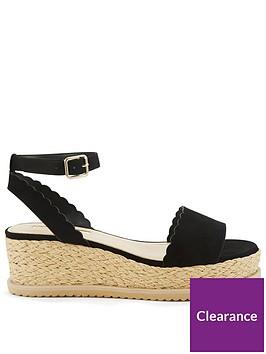 miss-selfridge-scalloped-flatform-sandal-blacknbsp